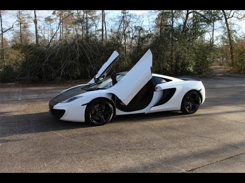 2012 McLaren MP4-12C - Review in Detail, Start up, Exhaust Sound, and Test Drive