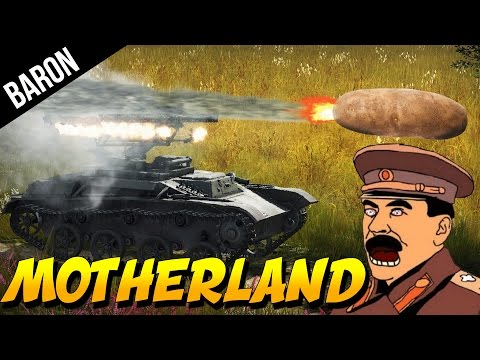 POTATO ROCKETS!  Ahhh Motherland!  (War Thunder Rocket Tanks Gameplay)