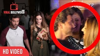 Hrithik Roshan Cute Moment With EX Wife Sussanne Khan | Viralbollywood