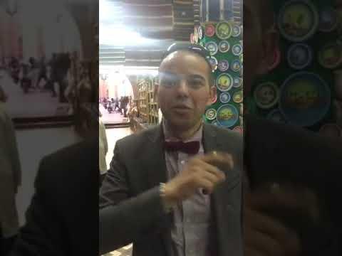 Ali Mâakoum à Casablanca l'art du Marocعلي معكم مباشرة من دار الصانع بالدار البيضاء