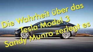 Die Wahrheit über das Tesla Model 3 - zerlegt von Sandy Munro - Top oder Flop?