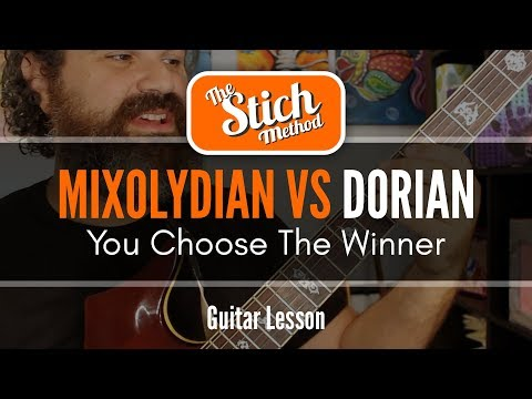Download Youtube: Modes: Mixolydian VS Dorian Guitar Lesson