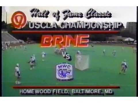 Old SKOOL Lacrosse: 1993 USCLA Championship: Brine LC vs. Mount Washington LC
