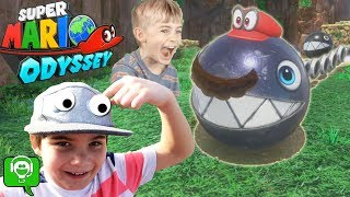 One of HobbyKidsGaming's most viewed videos: Mario Odyssey Part 1 With Hat Takeover HobbyKidsGaming
