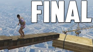 parkour extremo mxima tension final gameplay gta 5 online funny moments gta v ps4