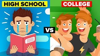 High School Vs College   How Do They Compare?