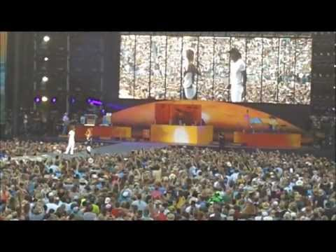 Kenny Chesney & Tim McGraw / Faith Hill - LP Field Concert 6/23/12 - Nashville