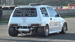 Download Crazy Fiat X1 9 Proto Powered By Yamaha R1 Engine