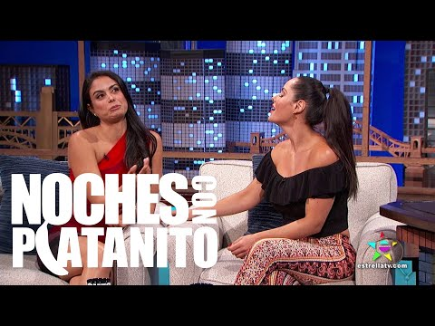 Entrevista con Ana Lucia Dominguez y Johanna Cure - Noches con Platanito