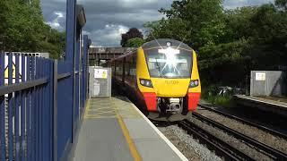 Trains @ Barnes Station 28/05/2019