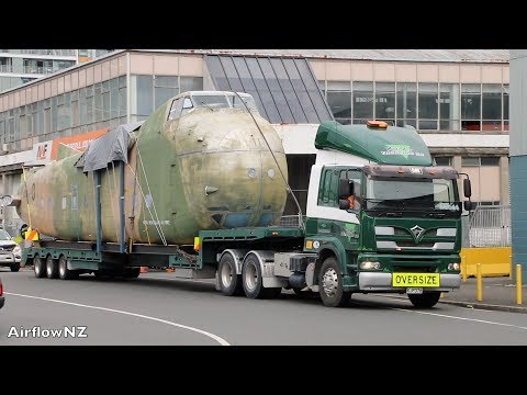 Bristol Freighter Aircraft on its way  from New Zealand to England 2017