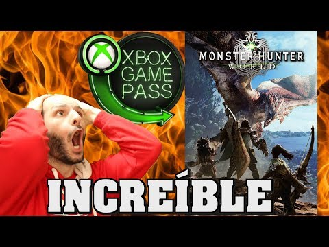 ¡MONSTER HUNTER WORLD EN GAME PASS ES UN MILAGRO! - Sasel - xbox one - microsoft - español thumbnail