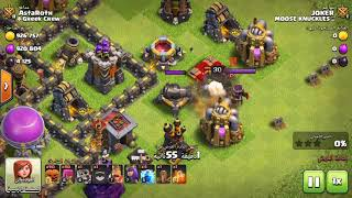 Giant Skeleton vs. Archer Queen | Clash of Clans