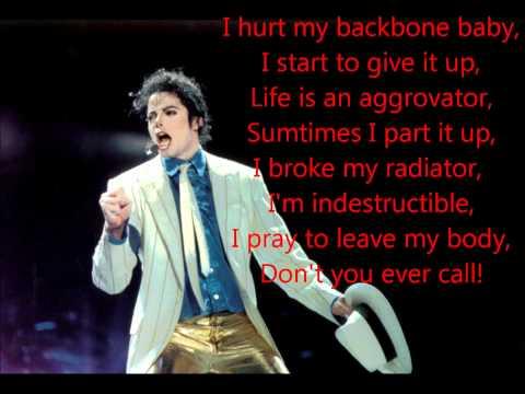 Michael Jackson - Cheater (1080p)