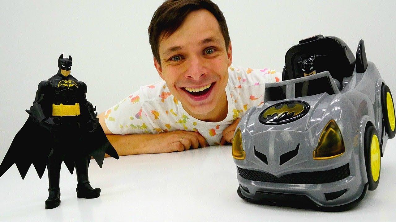 Мастерская Фёдора - Супергерои: выбираем машинку для Бэтмена.
