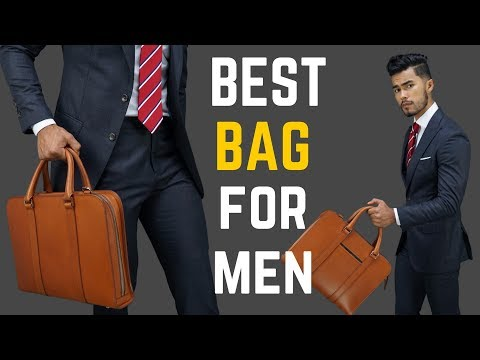 The ONE Bag EVERY Successful  Man NEEDS! | Briefcase Bag Review