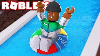*NEW* ESCAPE THE WATER PARK OBBY IN ROBLOX