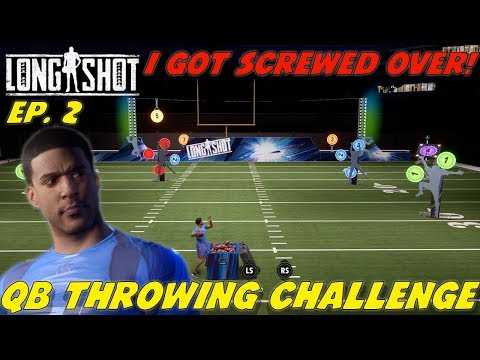 LONGSHOT EP. 2! DUDE PERFECT QB THROWING CHALLENGE! I GOT SCREWED OVER!