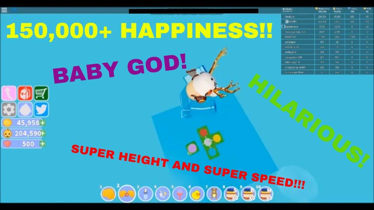 New Baby Simulator Epic Super Speed Glitch Baby God Baby