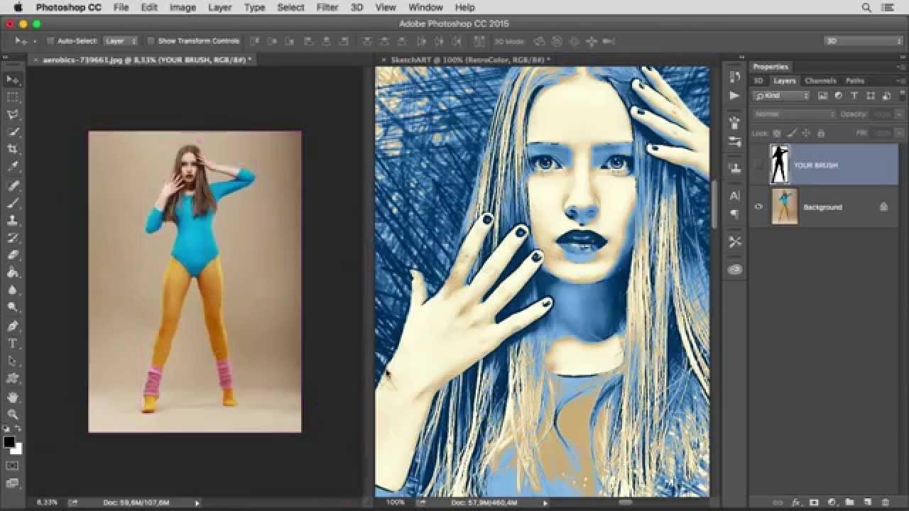 Sketch Art Photoshop Action - 1