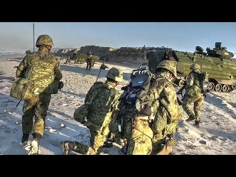 Japan Ground Self-Defense Force Conducts Amphibious Beach Assault, Takes Over Hostile Shore