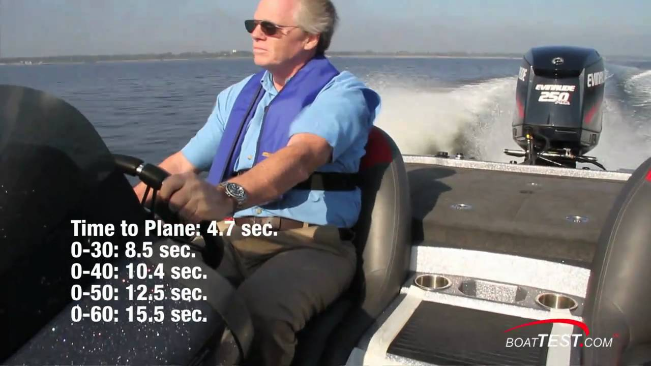 Evinrude E-TEC 250 H O  Engine 2011 Test/ Component Reviews