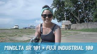 MINOLTA SR 101 + FUJI INDUSTRIAL 100 // QUICKIE ROLL #13 - ANDROMEDA FANNYA