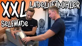Tank auslitern und XXL Eigenbau Ladeluftkühler für Marius Golf! | Philipp Kaess |