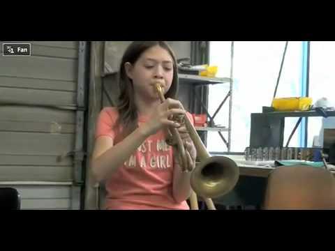 Ten Year Old Trumpet Player!