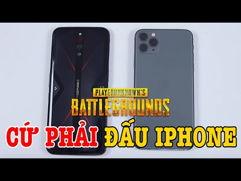Speedtest Red Magic 5G Vs IPhone 11 Pro Max : Cứ Phải đấu IPhone đã