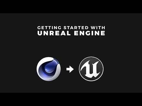 Cinema 4D to Unreal Engine 4 Workflow Tutorial thumbnail