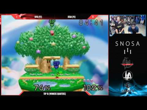 Snosa III - Hiyo vs DTan - Losers Round 2