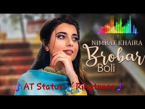 Brobar Boli Ringtone   Nimrat Khaira   Latest Punjabi Song 2018 Ringtone