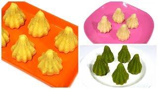 3 Modak Recipes | Ganesh Chaturthi Special Recipes | Mawa Modak, Coconut Modak, Paan Modak Recipe.