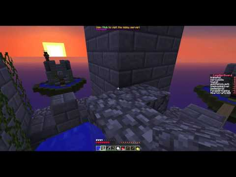 Minecraft Cloudy Combat: Games 7 and 8