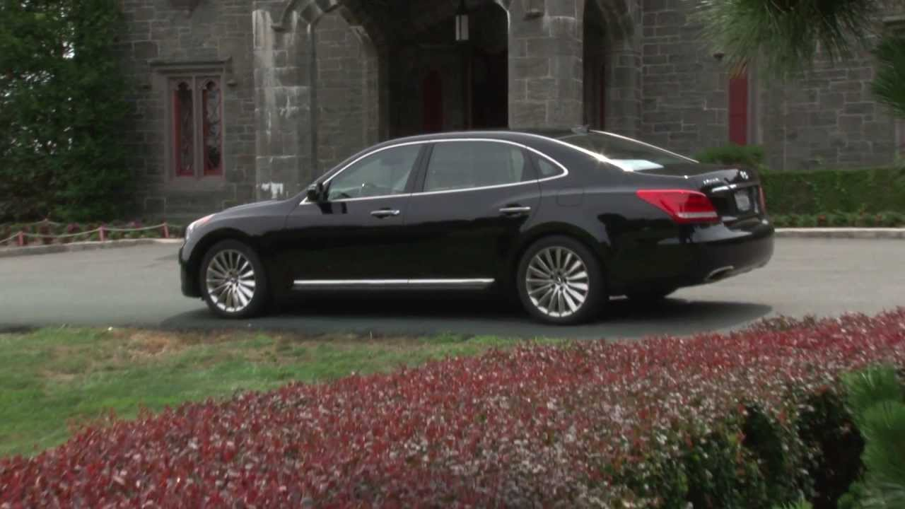 2014 Hyundai Equus   Drive Time Introduction With Steve Hammes |  TestDriveNow   YouTube