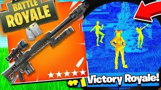 Fortnite - Thermal Heavy Sniper *Glitch* Season 8 Glitches