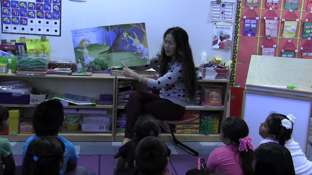 how to teach shared reading in kindergarten