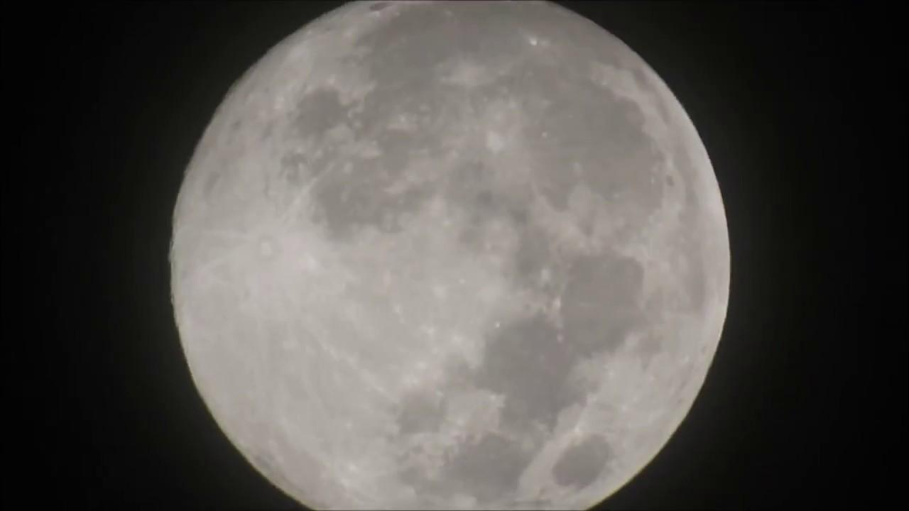 Full Moon And Jupiter April 2017 Part 02 Nikon