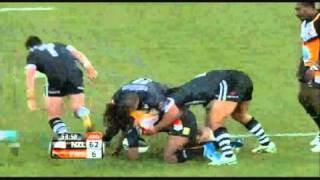 The Best Of The PNG Kumuls Rugby League Four Nations 2010 BiG Hits & Trys