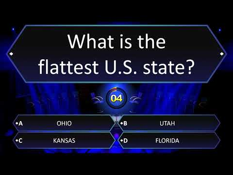 What Is The Flattest U.S. State?