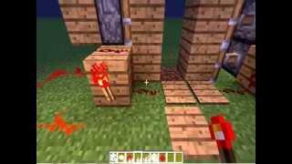 Minecraft-№5 Видеоурок по редстоуну [Секретный вход]
