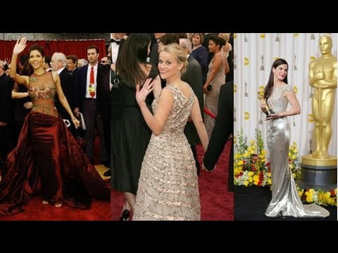 See the 10 Best Oscar Dresses of All Time - YouTube