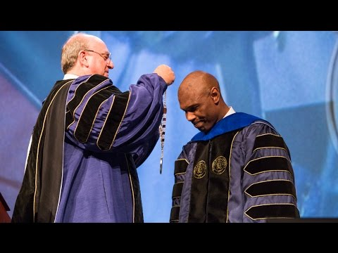Dr. Howard Inauguration Highlight