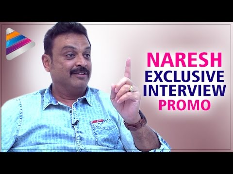 Actor Naresh about Chiranjeevi and Pawan Kalyan | Celebrities Latest Interviews | Telugu Filmnagar