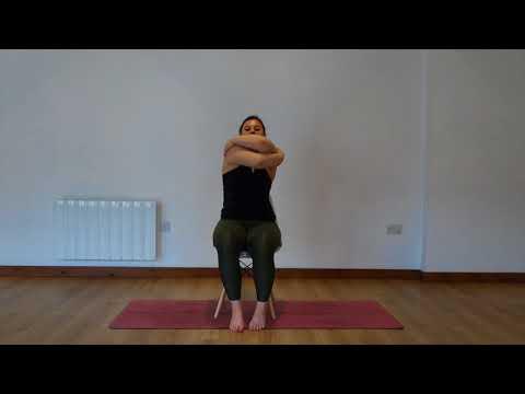 Yoga Osteo Between The Shoulder Blades Stretch