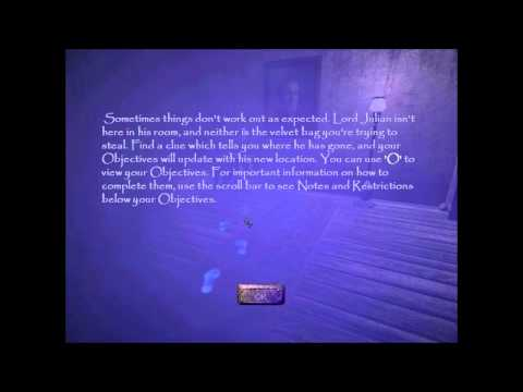 Lets Play Thief 3 Deadly Shadows: Part 1 - Tutorial |