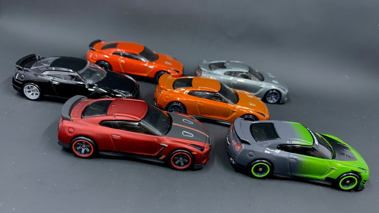 Lamley Saturday Showcase: Hot Wheels Nissan GT-R Family ...