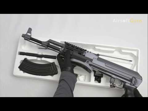 AK-47S RIS, Cyma, CM.028-B, Airsoft, Recenze, Review, Unboxing, Test