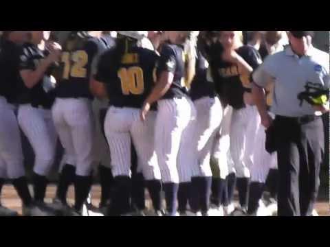 2012 NCAA Softball Playoffs: Cal v. Arkansas (Second Game) - Danielle Henderson's HR
